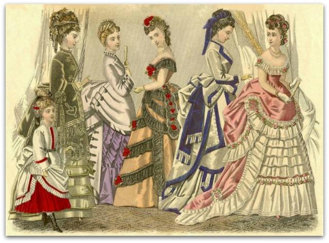 indumentaria y tejidos de la poca victoriana