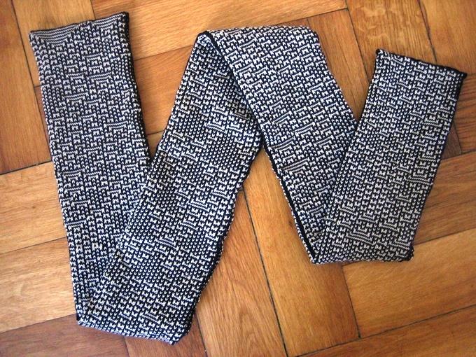 KnitYak: bufandas matemáticas personalizadas