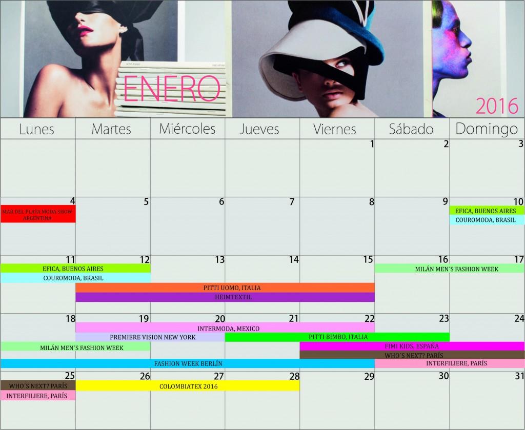 Calendario de ferias y eventos enero 2016 for Calendario ferias