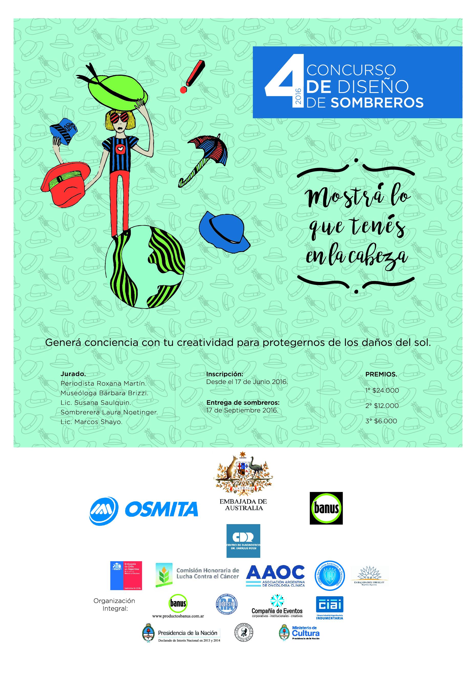 Concurso de dise o de sombreros 2016 4ta edici n for Concurso de docencia 2016