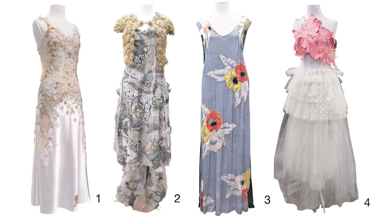 a90c9e57b4c03 Una muestra de la botánica en el diseño de indumentaria