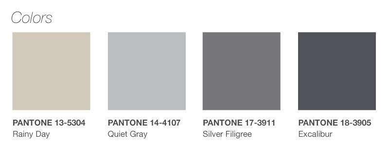 Anticipo colores oto o invierno 19 grises for Agenda pantone 2018
