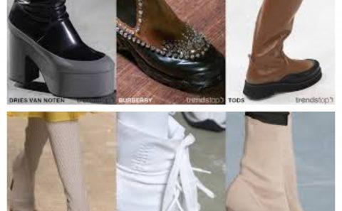 07d9a0f3d Tendencias clave de calzado femenino para Otoño Invierno 2020
