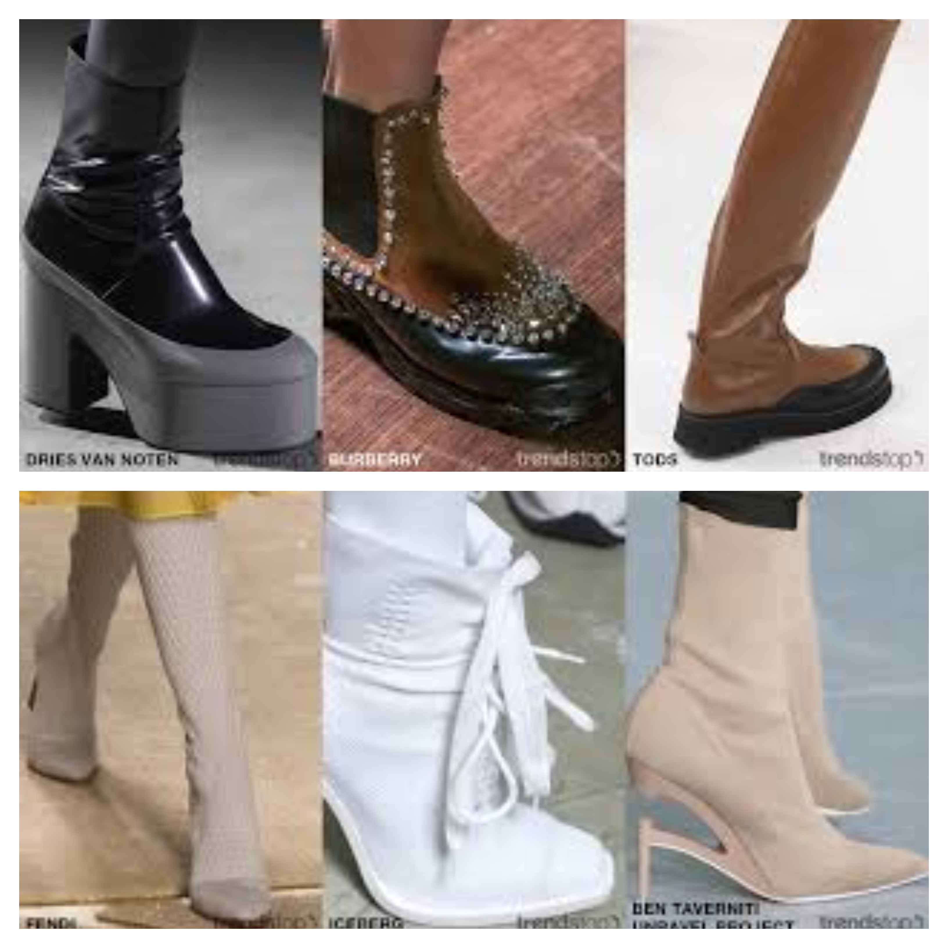 Tendencias clave de calzado femenino para Otoño Invierno 2020